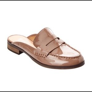 FRANCO SARTO Taupe color slip on loafers size 8